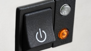 The power button