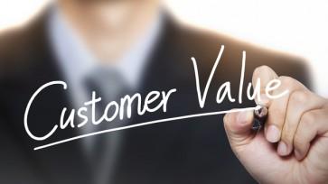 customer value written by hand