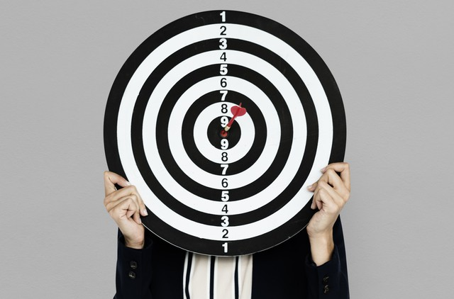 Dartsboard Bullseye Business Wear