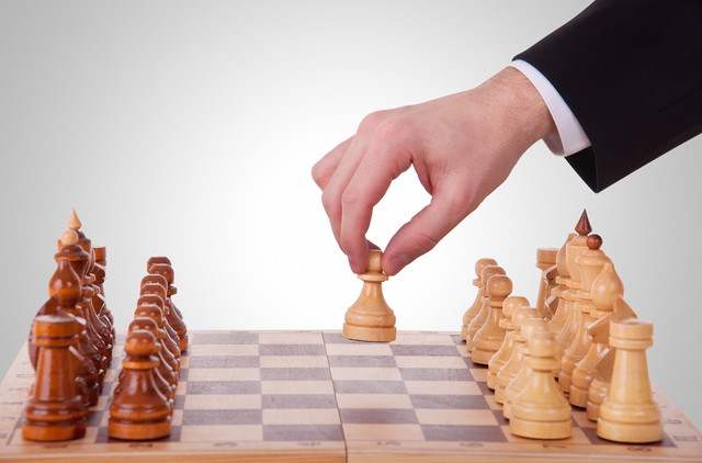 chess. The first step