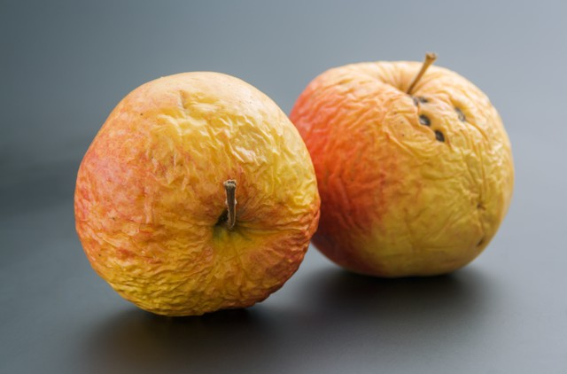 Two old apples